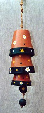 clay pot chimes