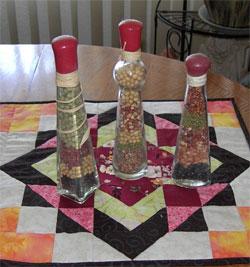 dried bean bottles