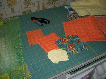 fabric for grocery bag holder