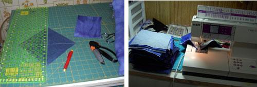 marking blue jeans