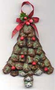 Pine Cone Christmas Tree Ornament