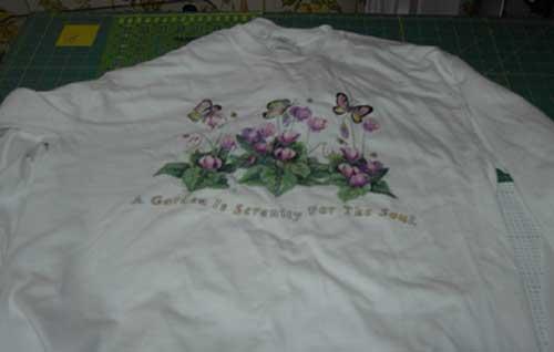 old tshirt