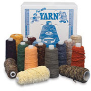 assorted yarn