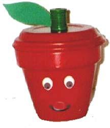 Clay Pot Apple