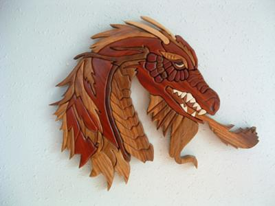 Hardwood dragon