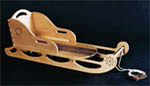 wood sled