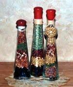 dried bean bottle
